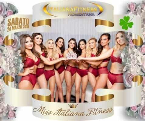 Miss Italiana Fitness