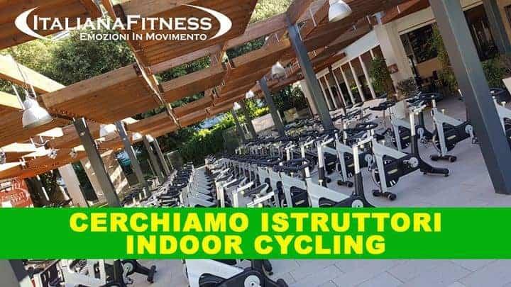 ricerca istruttori indoor cycling