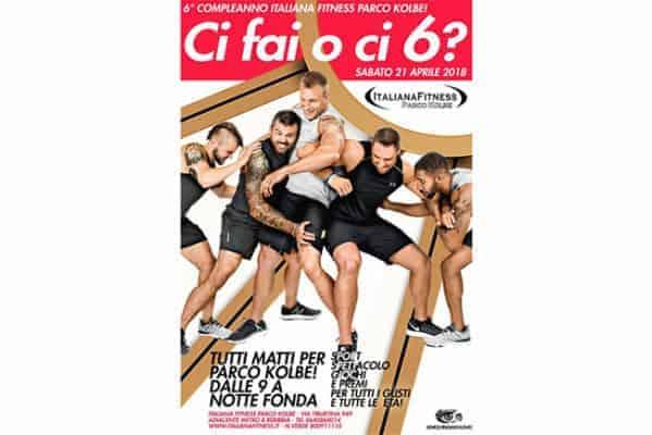 6 compleanno italiana fitness parco kolbe