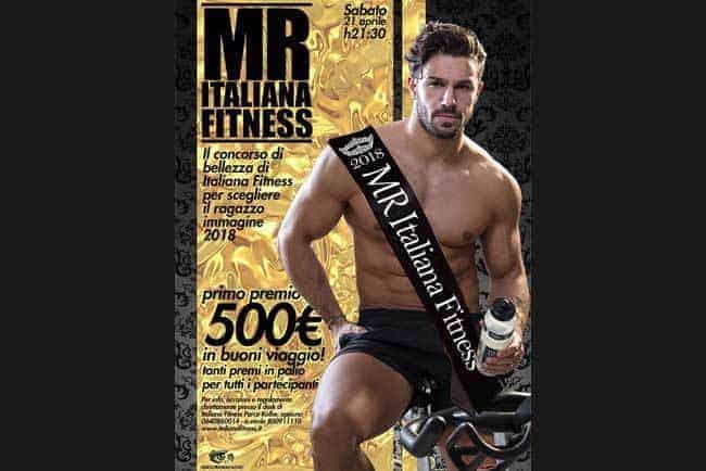 mister italiana fitness 2018