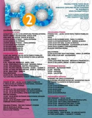H2O - Programma Open Day